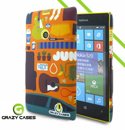Grazy Cases Lumia 520 suojakuori - CrazyBand