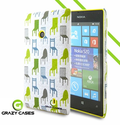 Grazy Cases Lumia 520 suojakuori - CrazyChair