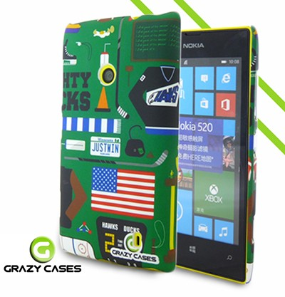 Grazy Cases Lumia 520 suojakuori - CrazyGame