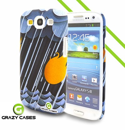 Grazy Cases Galaxy S3 suojakuori - CrazyRain
