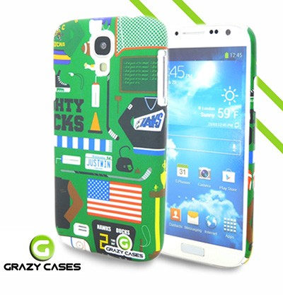 Grazy Cases Galaxy S4 suojakuori - CrazyGame