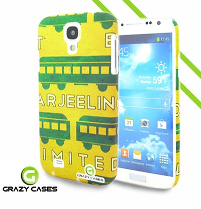Grazy Cases Galaxy S4 suojakuori - CrazyTrain