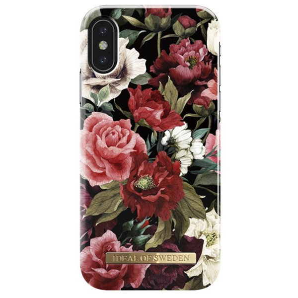 Apple iPhone X / XS iDeal of Sweden suojakuori Antique Roses