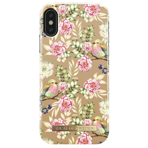 Apple iPhone X / XS iDeal of Sweden suojakuori Champagne Birds