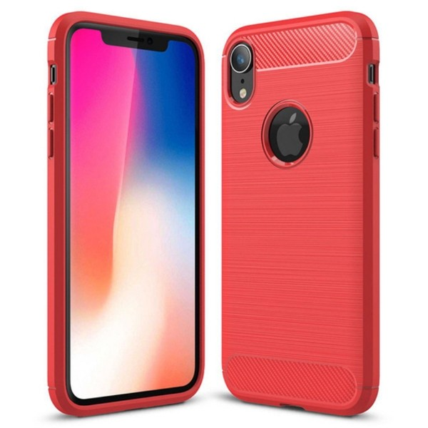 Apple iPhone XR Brushed Suojakuori, Punainen