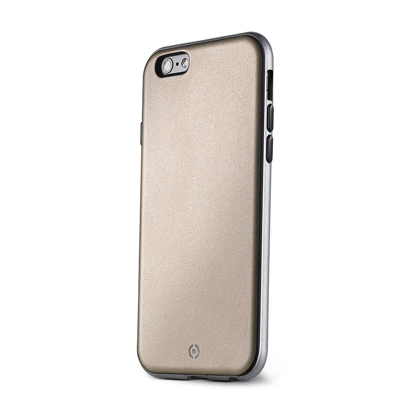 Celly Apple iPhone 6 / 6s Bumber Cover Suojakuori, Kulta
