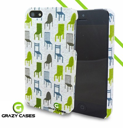 Grazy Cases iPhone 5 / 5s / SE suojakuori - CrazyChair