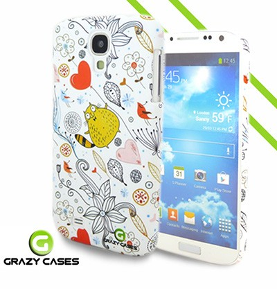 Grazy Cases Galaxy S4 suojakuori - CrazyCat
