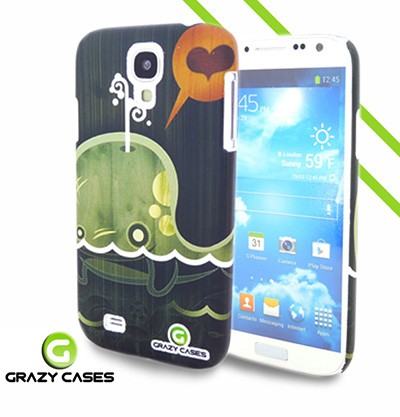 Grazy Cases Galaxy S4 suojakuori - CrazyWhale