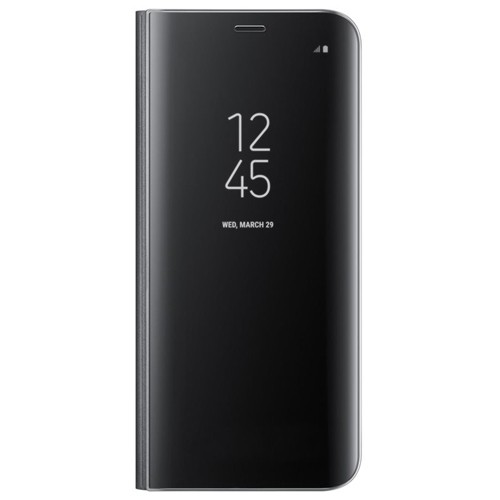 Samsung Galaxy S8+ Clear View Cover Suojakotelo, Musta