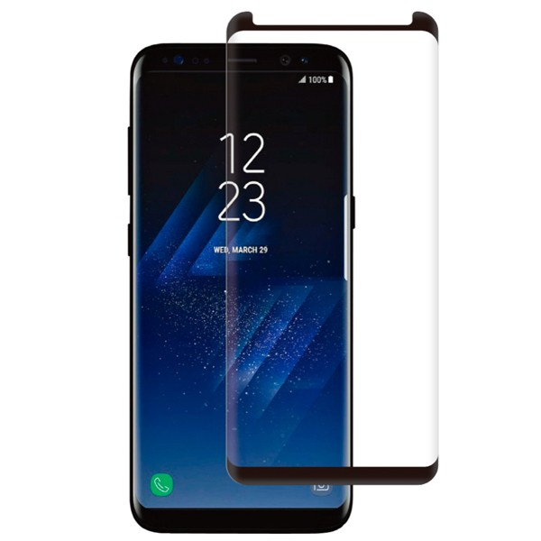Samsung Galaxy S8+ Screenor Full Cover Kaareva Panssarilasi