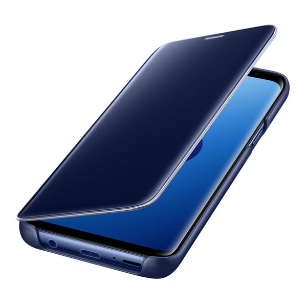 Samsung Galaxy S9 Clear View Cover Suojakotelo, Sininen