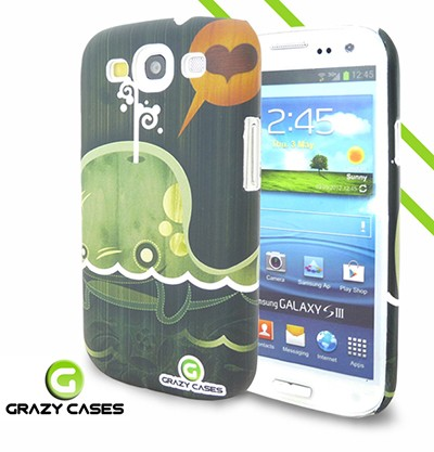 Grazy Cases Galaxy S3 suojakuori - CrazyWhale