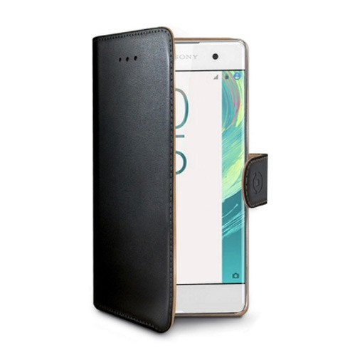 Sony Xperia X Compact Celly Wally Suojakotelo, Musta