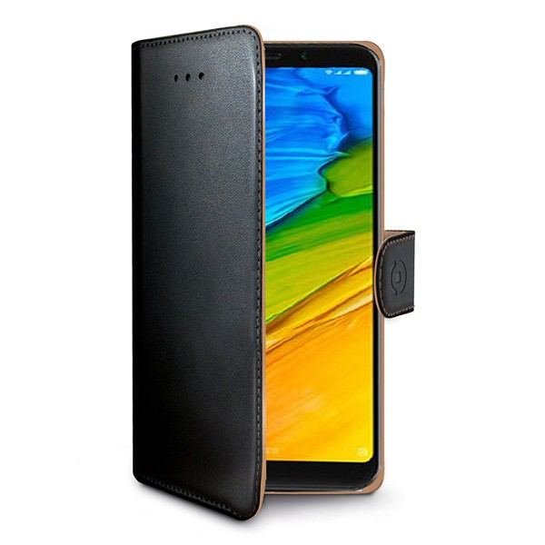 Xiaomi Redmi 5 Celly Wally Suojakotelo, Musta
