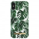 Apple iPhone X iDeal of Sweden suojakuori Monstera Jungle