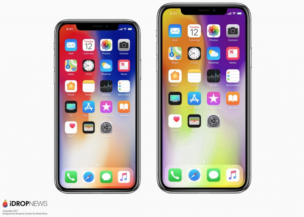 Apple iPhone X ja X Plus 2018